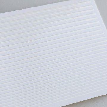 Гибкая лента для дизайна, белая