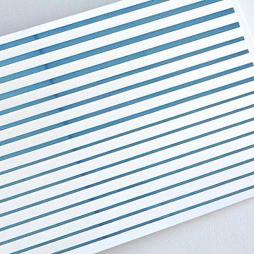 Гибкая лента для дизайна, синяя