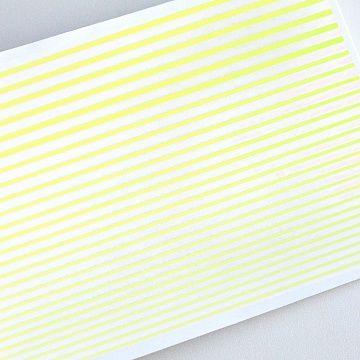 Гибкая лента для дизайна, желтая