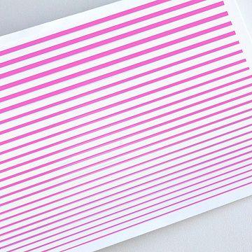 Гибкая лента для дизайна, розовая