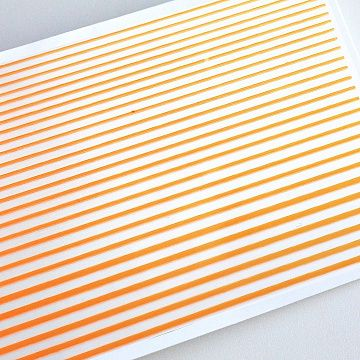 Гибкая лента для дизайна, оранжевая
